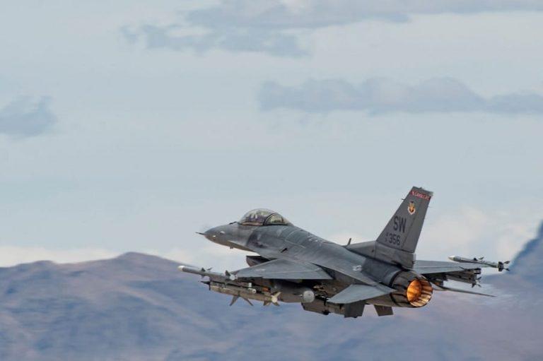 Murió piloto de F-16 en misión de entrenamiento
