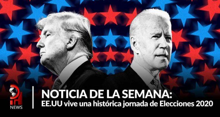 EE.UU vive una histórica jornada de Elecciones 2020