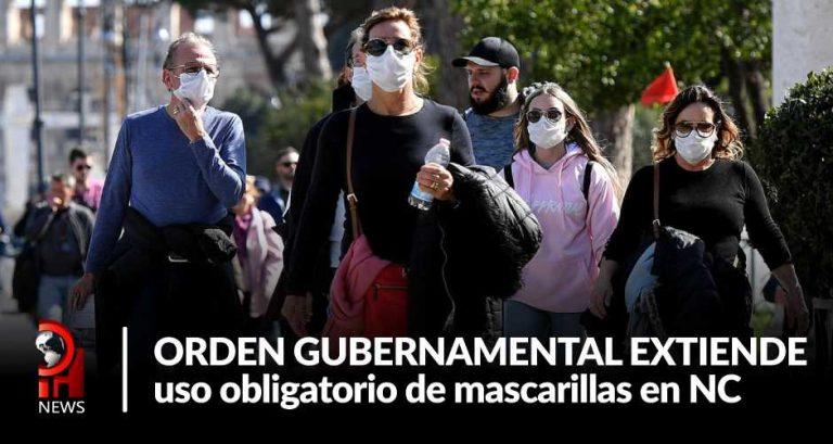 Nueva orden de uso de mascarillas