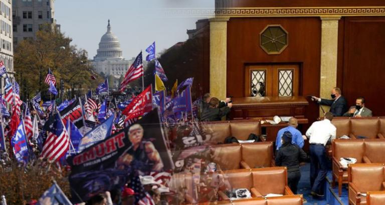 Caos en el Capitolio