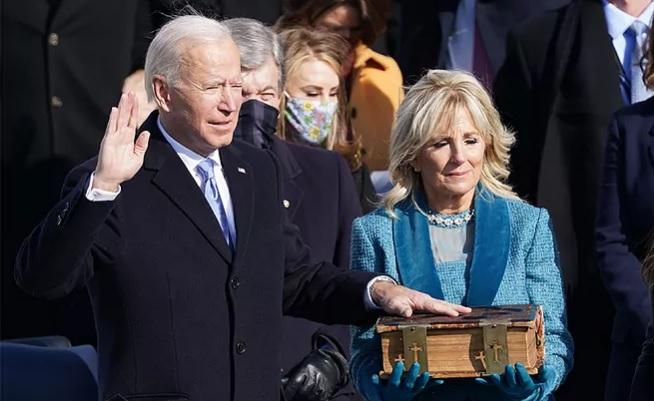 Joe Biden Presidente 46° de los EE.UU.