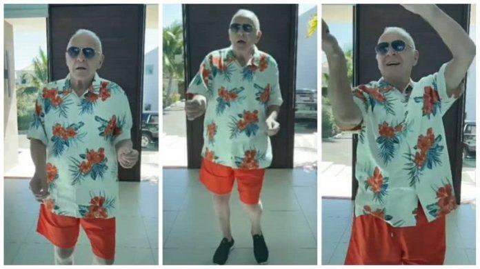 Anthony Hopkins se hace viral bailando al ritmo de Elvis Crespo
