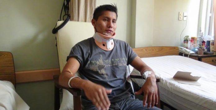 Sobreviviente de desastre aéreo de Chapecoense se salva de nuevo de la muerte