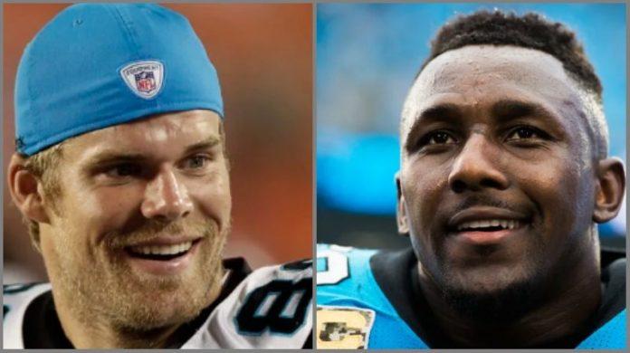 Olsen y Davis se unen para una emotiva despedida en Carolina Panthers