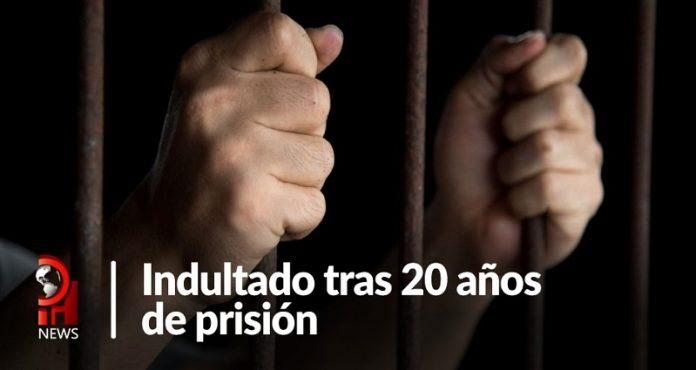 Indultado tras 20 de años de prisión por un crimen que no cometió