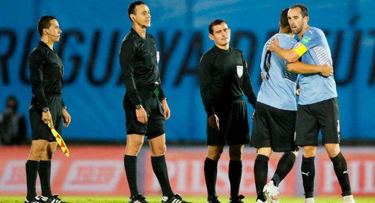 Conmebol suspende árbitros de partido Uruguay vs Paraguay
