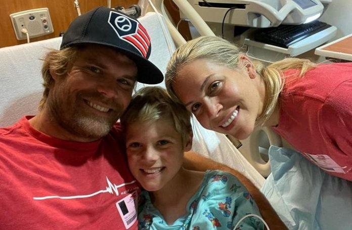 Greg Olsen consiguió un corazón para su hijo