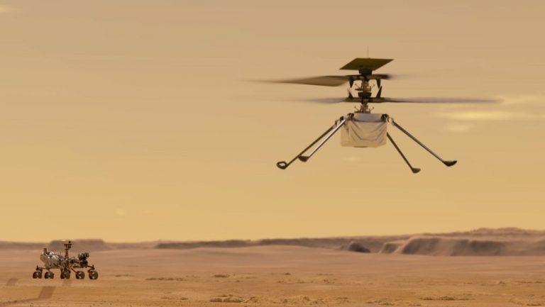 Ingenuity realiza su séptimo vuelo en Marte