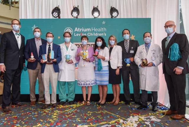 Levine Children's Hospital está clasificado entre los mejores del país