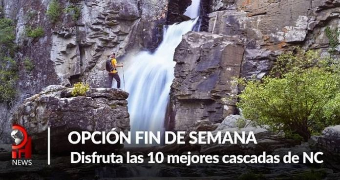 Opción fin de semana Disfruta las 10 mejores cascadas de NC