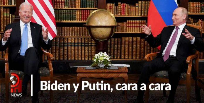 Putin y Biden en Ginebra Armas nucleares y ciberseguridad