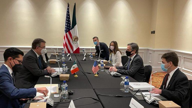 SICA: punto de diálogo entre Antony Blinken y Marcelo Ebrard