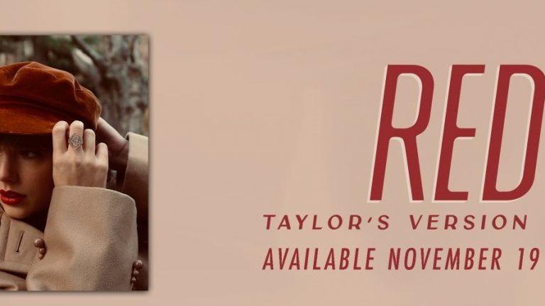 "Taylor Swift anuncia su próximo álbum: ""Red (Taylor's Version)"""