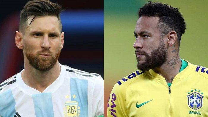 ¡Messi y Neymar frente a frente! Final de clásico en Copa América