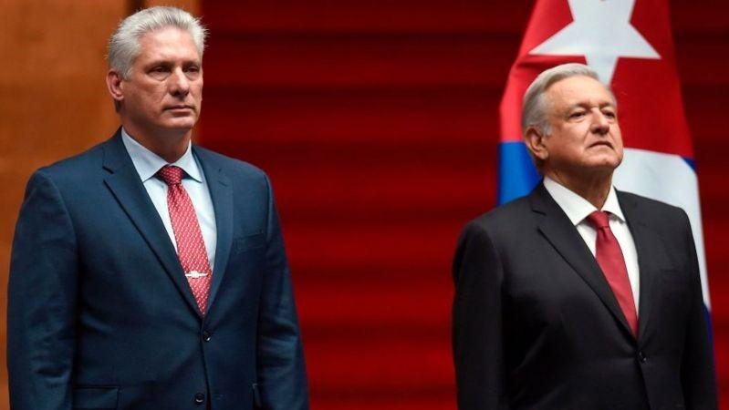 AMLO critica a EE.UU., por el embargo a Cuba