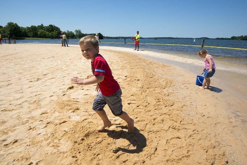 Ampliados horarios de playa y piscinas de Ramsey Creek