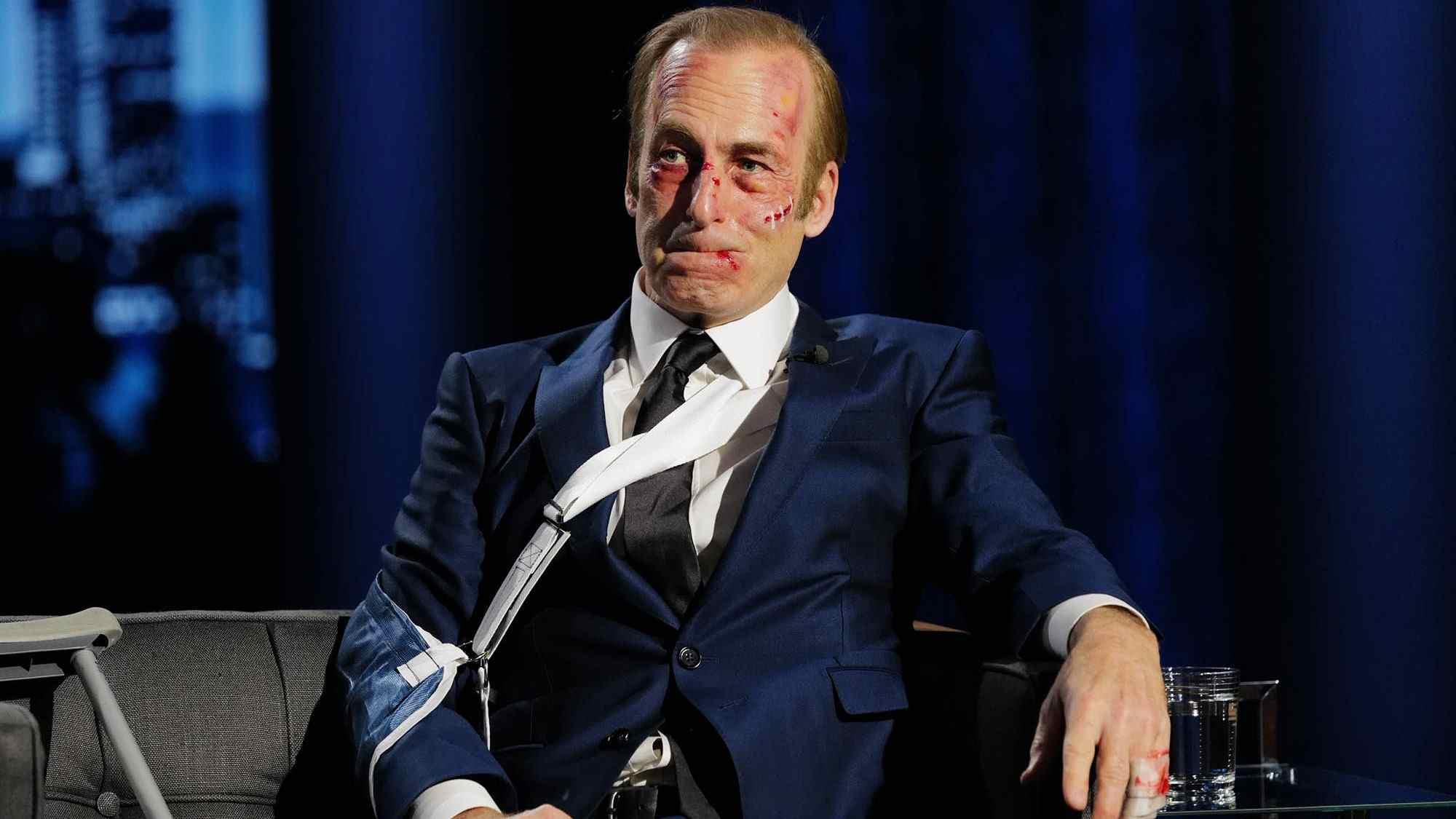 Bob Odenkirk está estable luego de colapso en el set