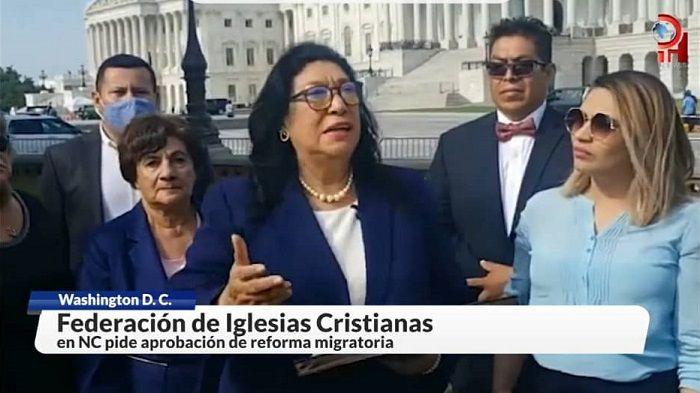 Cristianos presionan en Washington por una reforma migratoria justa