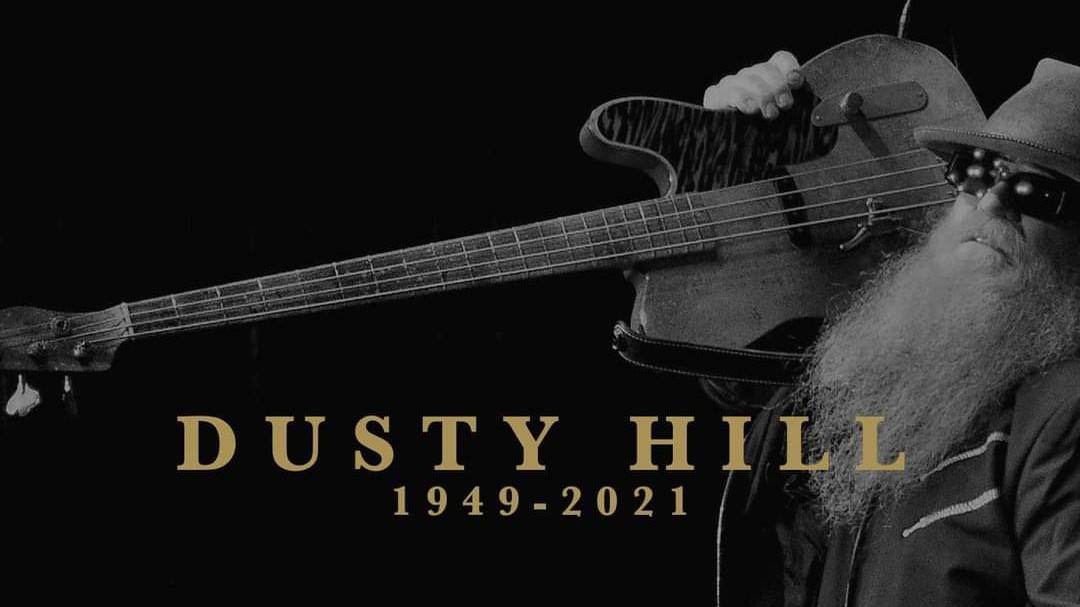 Dusty Hill de ZZ Top muere a los 72 años