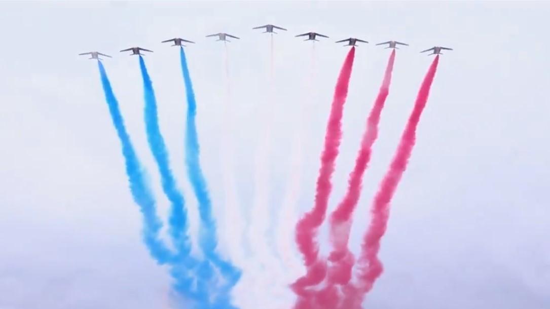 France celebrate Bastille Day 14 de julio