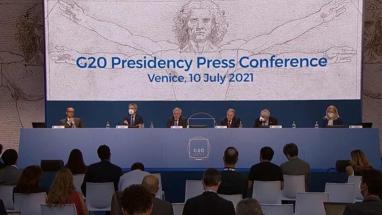 G20 en Venecia entre aplausos y protestas