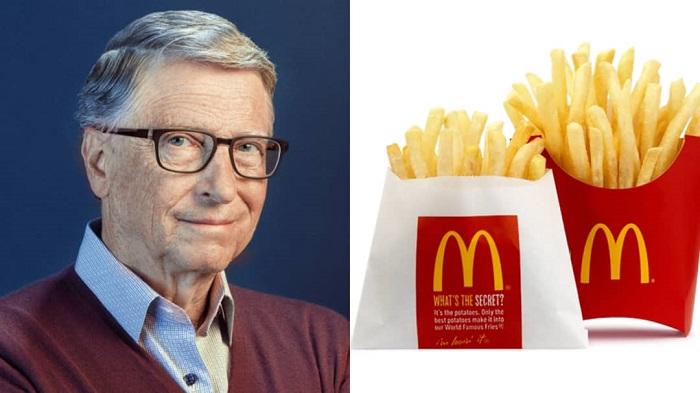 La curiosa relación entre Bill Gates y las papas fritas de McDonald's
