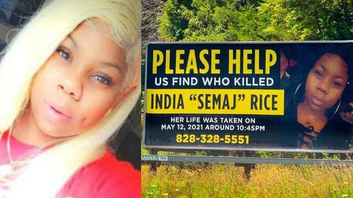 Madre paga vallas publicitarias para encontrar al asesino de su hija