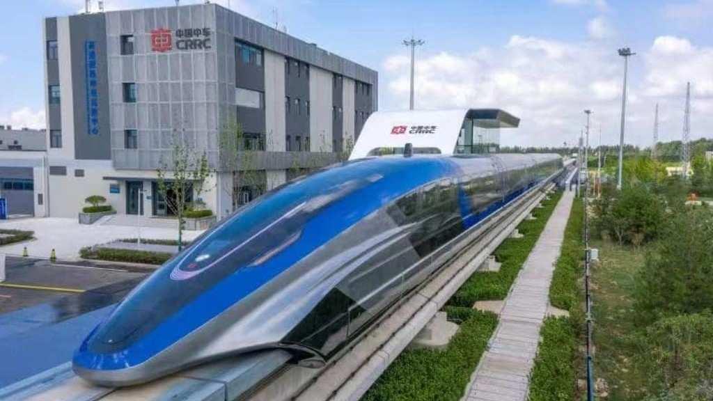 Maglev debuta en China a 600 kmh