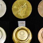 Medallas olímpicas de Tokio 2020 ¡son recicladas!