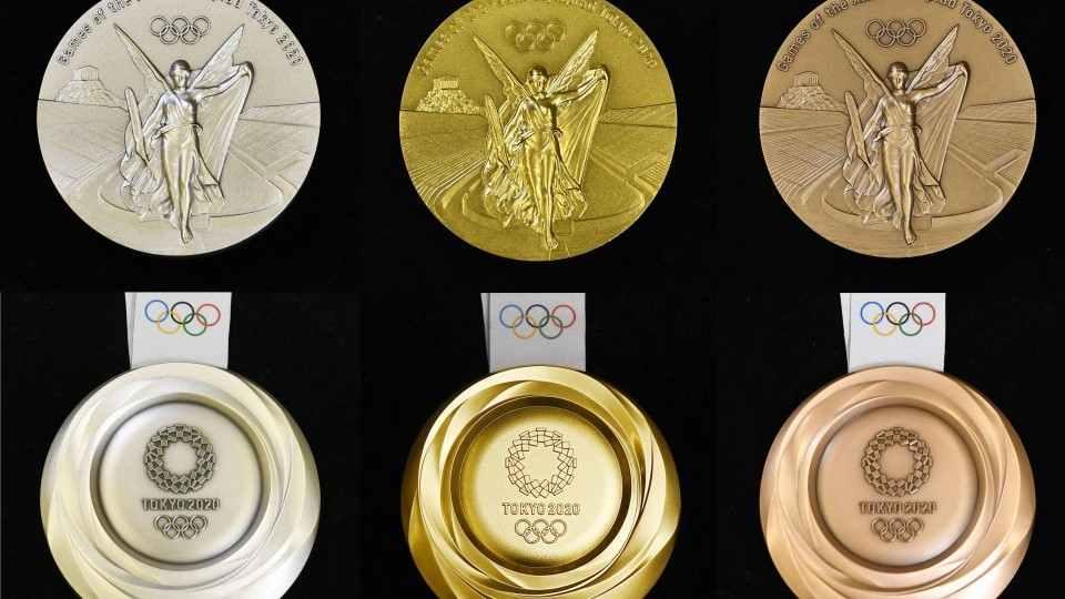 Las medallas olímpicas de Tokio 2020 ¡son recicladas!