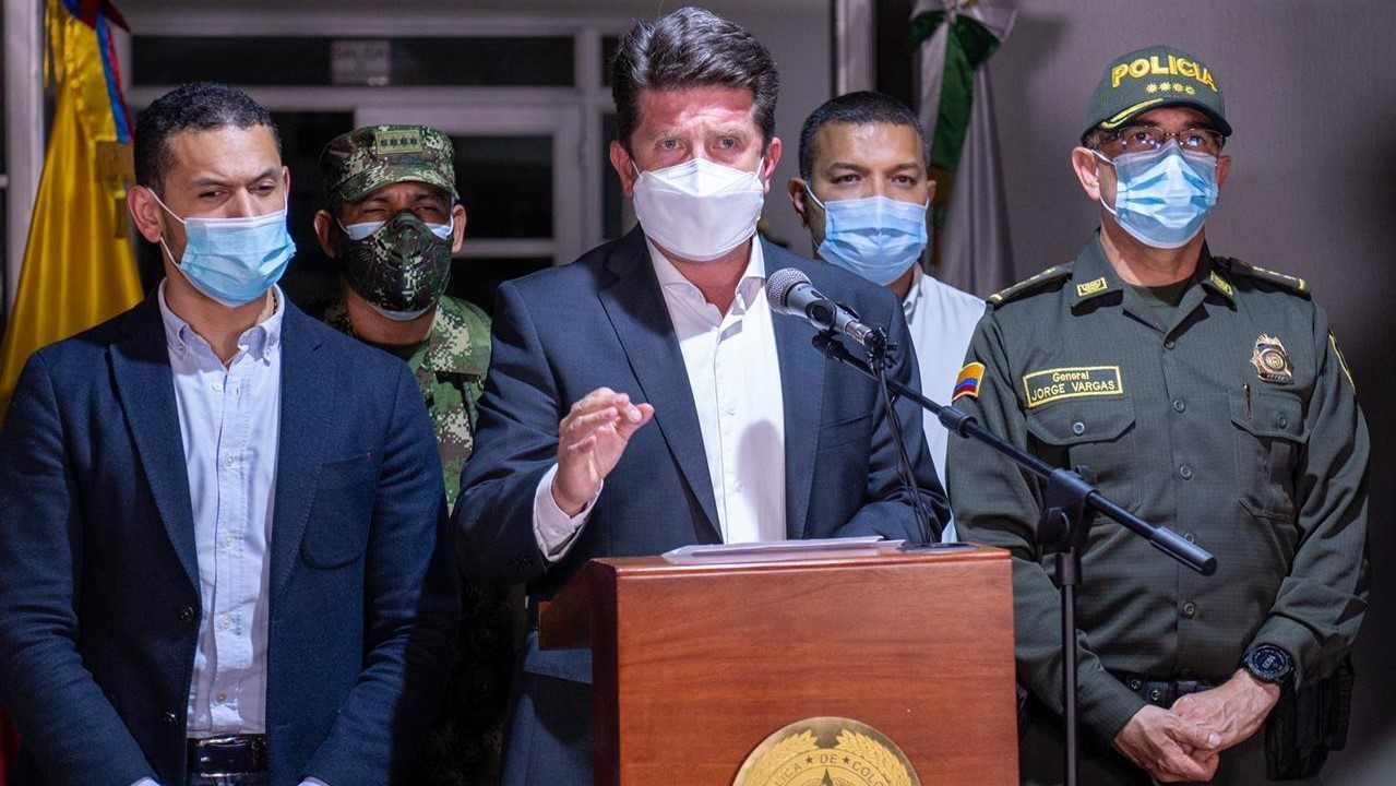 Ministro de Defensa de Colombia confirma exmilitares en magnicidio de Haití