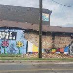 Mural de George Floyd fue destruido