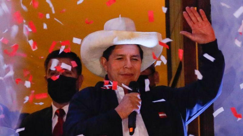 Pedro Castillo oficialmente es presidente del Perú