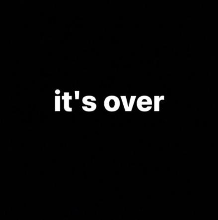 Yermin Mercedes le dice It's over