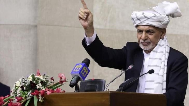 Aparece Ashraf Ghani, expresidente de Afganistán