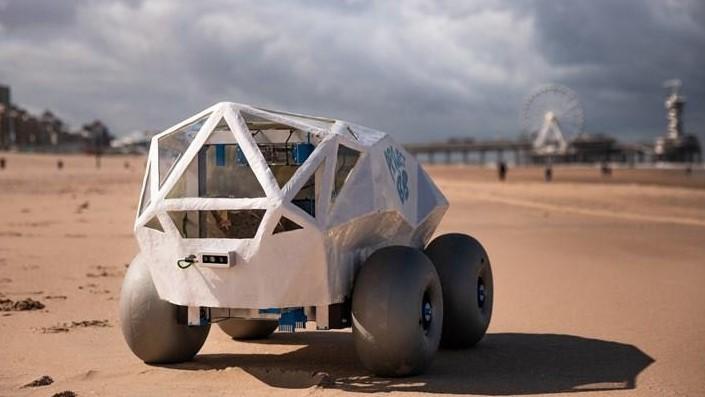 BeachBot y la IA la promesa de playas libres de basura