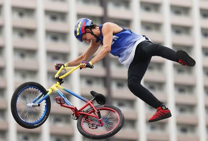 Daniel Dhers y el BMX Freestyle de Carolina del Norte brillan en Tokio