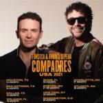 El Compadres Tour, Fonseca y Andrés Cepeda en Charlotte. Concierto