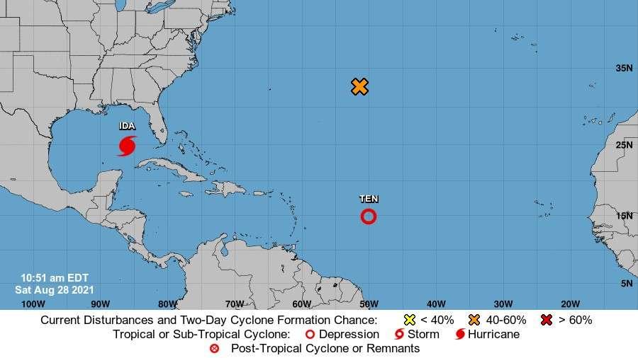 Huracán Ida llegará a EE. UU con vientos de 225 kmh