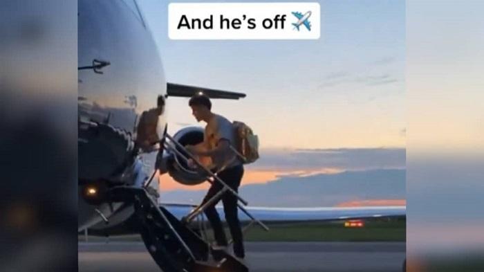 LaMelo Ball viaja con estilo en jet privado