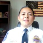 Mujer hispana logra histórico cargo en policía de Gastonia