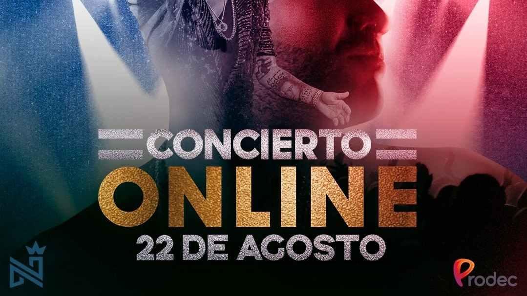 Nacho Mendoza en concierto sinfónico virtual