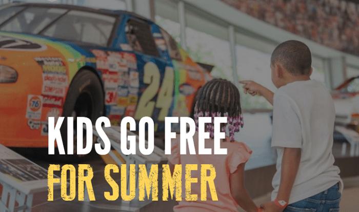 Niños entran gratis al NASCAR Hall of Fame