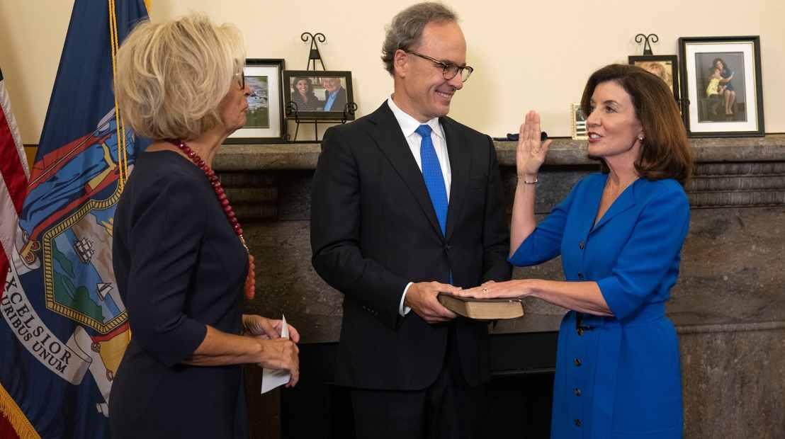 Nueva York con primera mujer gobernadora