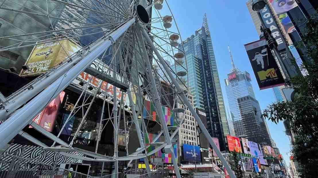 Nueva York estrena nueva atracción en Times Square