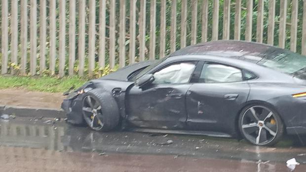 Paolo Guerrero sufrió aparatoso accidente automovilístico
