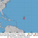 Tormenta tropical Ida sigue moviéndose al norte de EE. UU.