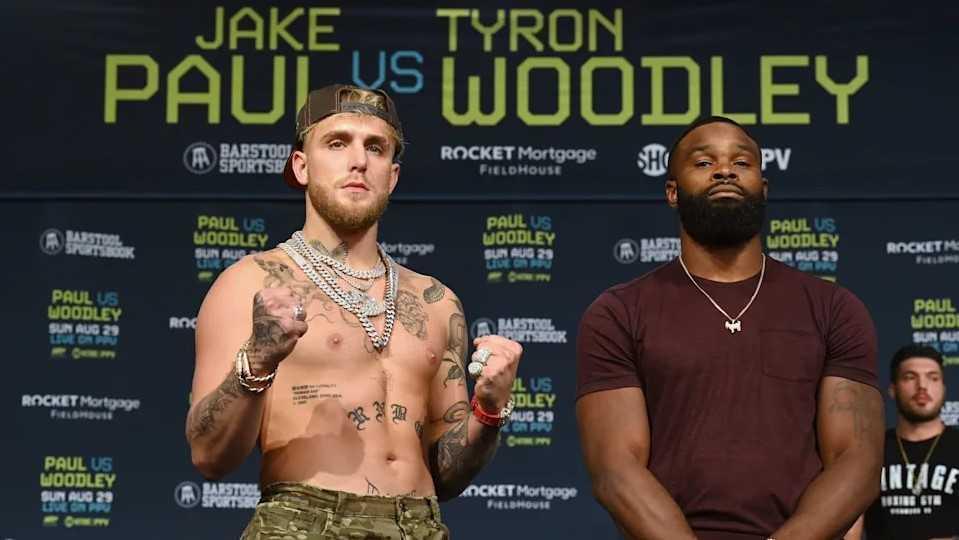 Tyron Woodley reacciona contra insulto del equipo de Jake Paul