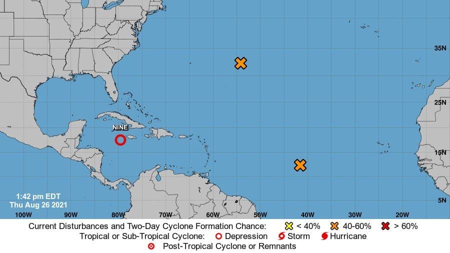 Un huracán tropical podría llegar a la Costa del Golfo este fin de semana