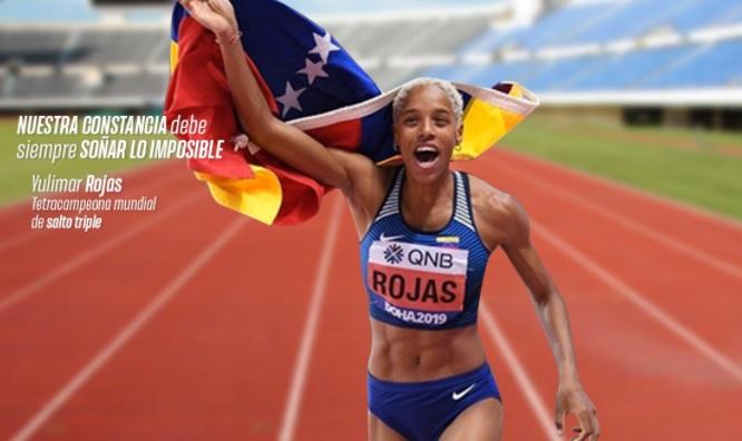 Yulimar Rojas 15.67 Oro, Récord Olímpico y Récord Mundial